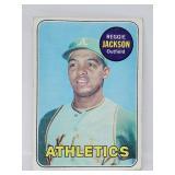 1969 Topps - #260 Reggie Jackson - Rookie