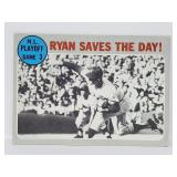 1970 Topps #197 - Nolan Ryan - Play Off Action