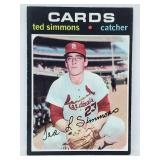 1971 Topps - 117 - Ted Simmons Rookie Card