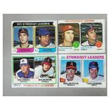 1973 - 78 Topps - 4 - Nolan Ryan Leader Cards