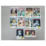 1973 Topps - 10 Card HOF/Star Lot
