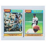 1976 Topps - Record Breakers - Aaron & Seaver