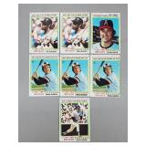 """1978 Topps - 7 Card """"Record Breakers"""" Lot"""