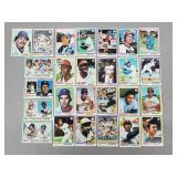 1978 Topps - Lot of 25 Cards - HOF 7 Stars