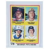 1978 Topps - #703 - Jack Norris Rookie Card