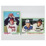 1978 Topps #206 & #400 - Nolan Ryan Cards