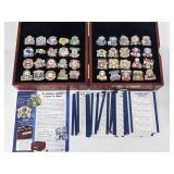 1921-2009 New York Yankees 40 Pin Set W/ Case
