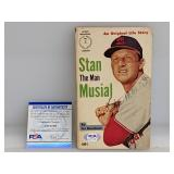 Stan Musial Signed 1961 Sport Magazine #2 W/ PSA