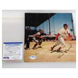 Stan Musial Signed 8x6 Magazine Clipping W/ PSA
