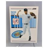 1993 Score Draft Pick Derek Jeter Rookie Card #489