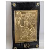 22K Gold Foil Nolan Ryan Card