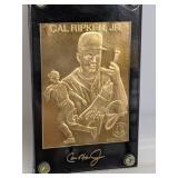 22K Gold Foil Cal Ripken Jr. card