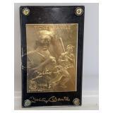 22K Gold Foil Mickey Mantle Card (Case Cracked)