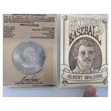 Albert Spalding Father Of Baseball Coin
