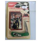 Kyle Petty Case Folding Knife and Card