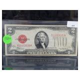1928-D Red Seal $2 Dollar Bill