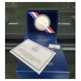 2009 UNC 90% Silver Braille Bicentennial $1