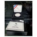 2012 Proof 90% Silver Infantry Soldier $1 Dollar