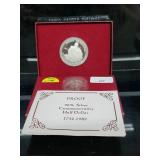 1982 Proof 90% Silver Washington Comm Half $1
