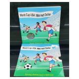 1994 World Cup USA Half $1 Dollar