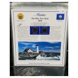 Maine State Quarters & Postal Comm