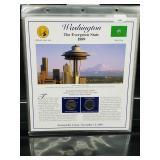 Washington State Quarters & Postal Comm