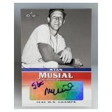 2015 Leaf Signed Stan Musial Card #MA-SM3
