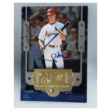 1999 SPX J.D. Drew Signed Rookie Card /1999