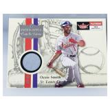 2001 Fleer Platinum Ozzie Smith Relic Card