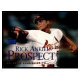 2000 Skybox Blue Foil Rick Ankiel RC
