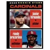 2020 Topps Heritage Rookie Stars Randy Arozarena