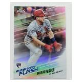 2018 Topps Chrome Freshman Flash Harrison Bader RC