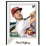 2017 Topps Gallery Paul DeJong RC
