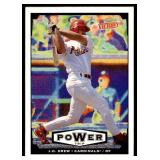 1999 Upper Deck Victory Power Trip J.D. Drew RC