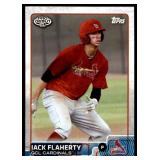 2015 Topps Pro Debut Jack Flaherty RC