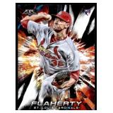 2018 Topps Fire Jack Flaherty RC
