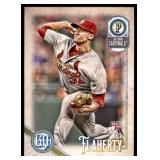2018 Topps Gypsy Queen  Jack Flaherty RC