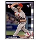 2019 Bowman  Dakota Hudson RC
