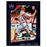 2019 Panini DK Framed Daniel Ponce DeLeon RC