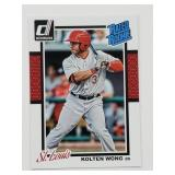 2014 Donruss Rated Rookie Kolten Wong RC #35