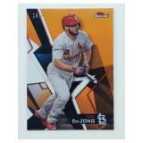 2018 Topps Finest Orange 19/25 Paul Dejong #44