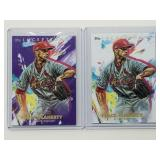 2020 Topps Inception Jack Flaherty Purple /150 & B