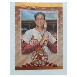 2001 Donruss Diamond Kings Stan Musial 2462/2500
