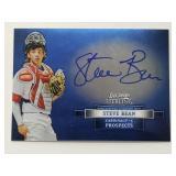 2012 Bowman Sterling Steve Bean Signed Card