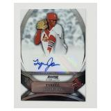 2010 Bowman Sterling Tyrell Jenkins Signed Card