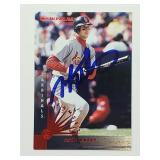 1997 Donruss John Mabry Signed Card