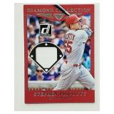 2017 Donruss Stephen Piscotty Game Used Relic Card