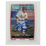 2012 Bowman Chrome Charlie Tilson Signed RC