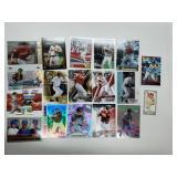 Lance Berkman Lot W/ Rookies & Inserts