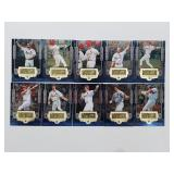 1999 SPX 1-10 Mark McGwire Lot